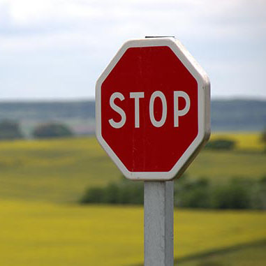 Stop sign showing travel medical services conducted in GPs on Curzon, Doctors in Toowoomba